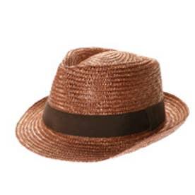 Noah(ノア)麦わら中折れ帽子 (ブラウン)