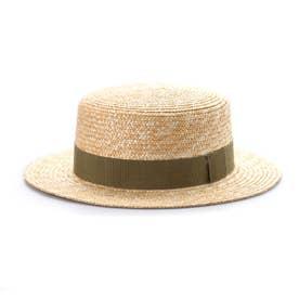 marin/G(マラン・ジー)カンカン帽 (カーキ)