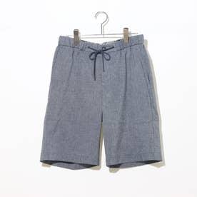 EVALET Linen And Go Short Pants (Indigo BLUE)