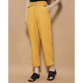 SLIT AND SEE IN TOKYO PANT (CANARY)