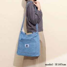 【ネット限定】デニム素材 ロングセラー商品 トート☆ショルダーバッグ (BLUEデニム)
