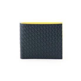 マルチカラー2つ折り財布 [ 財布 二つ折り カラフル ] (レモンイエロー)