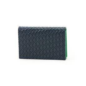 マルチカラー名刺カードケース[メンズ 名刺入れ カードケース] (グリーン)