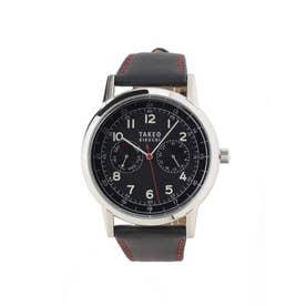 2カウンタークロノソーラー時計[ メンズ 時計 ソーラー ] (ブラック)