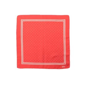ドットプリントポケットチーフ (ダークオレンジ(568))