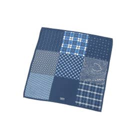 9ボックスポケットチーフ (ネイビー(593))