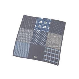 9ボックスポケットチーフ (グレー(512))