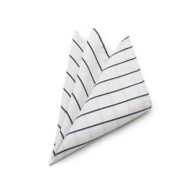 12色マルチカラーポケットチーフ[ メンズ チーフ 結婚式 ] (ホワイト)