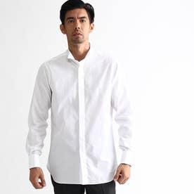 ◆120/2ブロードウィングカラーシャツ (ホワイト)