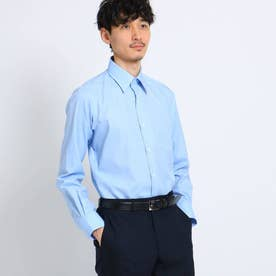 マイクロドットブロードシャツ[ メンズ トップス シャツ ビジネス 結婚式 ノンアイロン ] (ライトブルー)