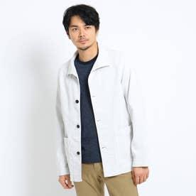 カバーオールジャケット (ホワイト)