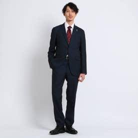 ペンシルストライプスーツ Fabric by MIYUKI Bemback(R) (ダークネイビー)