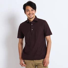 ギローバー 半袖ポロシャツ (ダークブラウン)