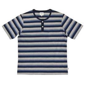 半袖ヘンリーネックシャツ (コン)