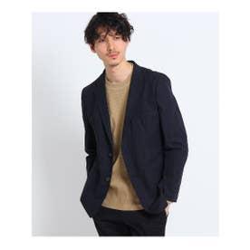 ◆【大きいサイズ】ドビーマルチジャケット (ネイビー(093))