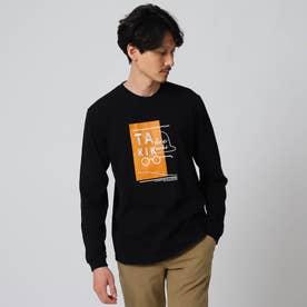 【Sサイズ~】ボーラータイポ ロングTシャツ (ブラック)