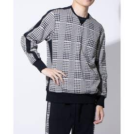 長袖クルーネックシャツ (オフ)