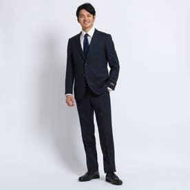【Sサイズ~】シャドーストライプ スーツ Material using CORDURA (ダークネイビー)