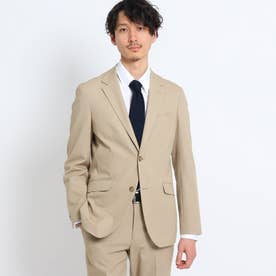 【Sサイズ~】テックストレッチメランジジャケット (サンドベージュ)
