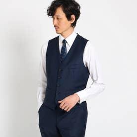 【Sサイズ~】シャイニーシャークピンヘッドべスト Fabric by MIYUKI KEORI (ダークネイビー)