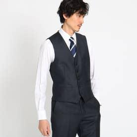 【Sサイズ~】シャイニーシャークピンヘッドべスト Fabric by MIYUKI KEORI (チャコールグレー)