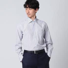 オルタネイトストライプシャツ (ネイビー)