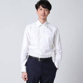 シャドーチェックシャツ (ホワイト)