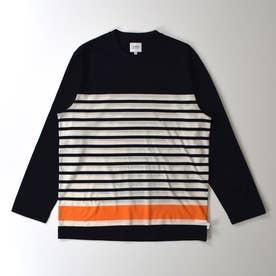 長袖クルーネックTシャツ (コン)