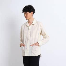 【Sサイズ~】クレンゼ(R)ユーティリティーシャツ (ライトベージュ)