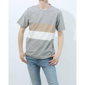 半袖クルーネックシャツ (杢グレー)