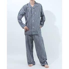 長袖テーラードパジャマ (コン)