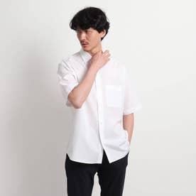 オーバーサイズ 半袖シャツ (ホワイト)