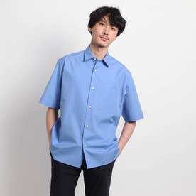 オーバーサイズ 半袖シャツ (ライトブルー)