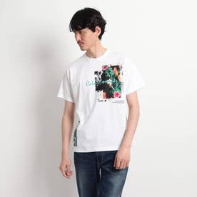 【Sサイズ~】マルチフォトプリントTシャツ (ホワイト)