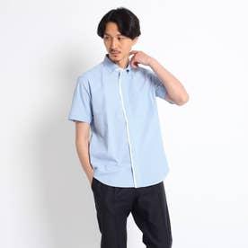 ハケメシャツ (ライトブルー)