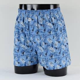 LL)前開きトランクス【返品不可商品】 (ブルー)
