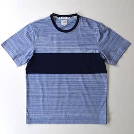 半袖クルーネックTシャツ (ブルー)