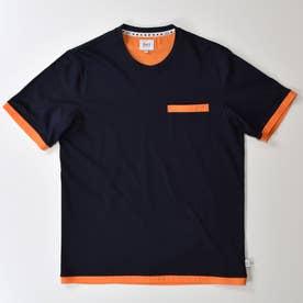 半袖クルーネックTシャツ (コン)