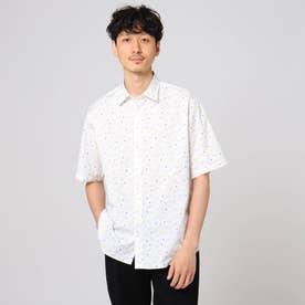 tomica コラボ シグナルパターン シャツ (ホワイト)