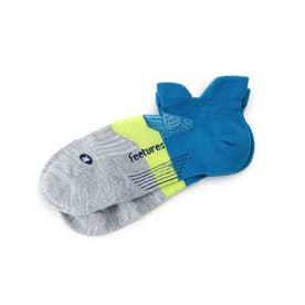 feetures(R) ACTIVE ELITE/ショートソックス (ブルー×イエロー)