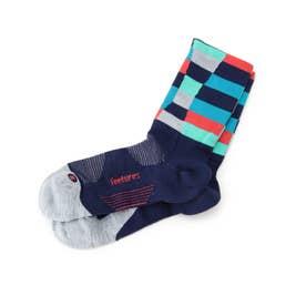 feetures(R) ACTIVE ELITE/ミニクルーソックス (ライトブルー)