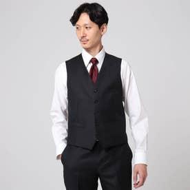 【Sサイズ~】シャドーオルタネイトストライプ ベスト (ブラック)