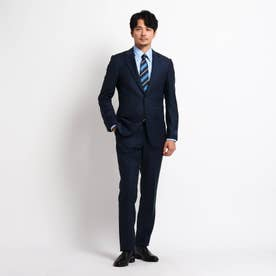 【Sサイズ~】シャドーオルタネイトストライプ スーツ (ネイビー)