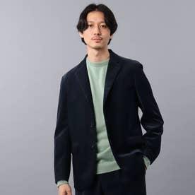 【Sサイズ~】ダウンファブリック コーデュロイ ジャケット (ネイビー)