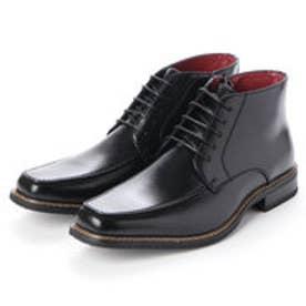 Uチップ 防水 防滑 消臭 ブーツ (ブラック)