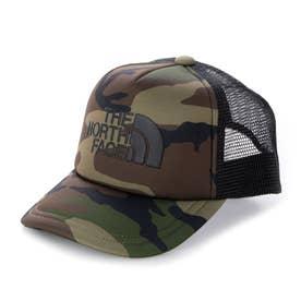 ジュニア トレッキング 帽子 Kids' Logo Mesh Cap(キッズロゴメッシュキャップ) NNJ01911 (グリーン)