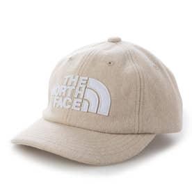 ジュニア トレッキング 帽子 Kids TNF LOGO Flannel Cap(キッズTNFロゴフランネルキャップ) NNJ42000 (ホワイト