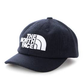 ジュニア トレッキング 帽子 Kids TNF LOGO Flannel Cap(キッズTNFロゴフランネルキャップ) NNJ42000 (ネイビー