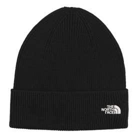 ジュニア トレッキング 帽子 Kids Small Logo Beanie(キッズスモールロゴビーニー) NNJ42001 (ブラック)