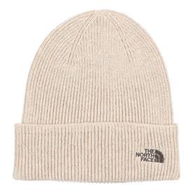 ジュニア トレッキング 帽子 Kids Small Logo Beanie(キッズスモールロゴビーニー) NNJ42001 (ホワイト)
